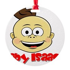 Baby Isaac head Ornament