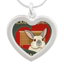 homehutch Silver Heart Necklace