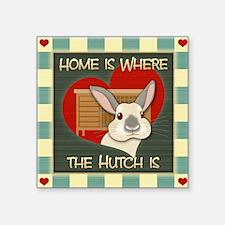 """homehutch Square Sticker 3"""" x 3"""""""