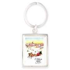greeting_cards_5.5x5.7_front_015 Portrait Keychain