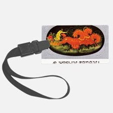 greeting_cards_5.5x5.7_front_023 Luggage Tag