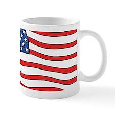 American Flag License Plate Holder Mugs
