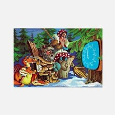 greeting_cards_5.5x5.7_front_019 Rectangle Magnet
