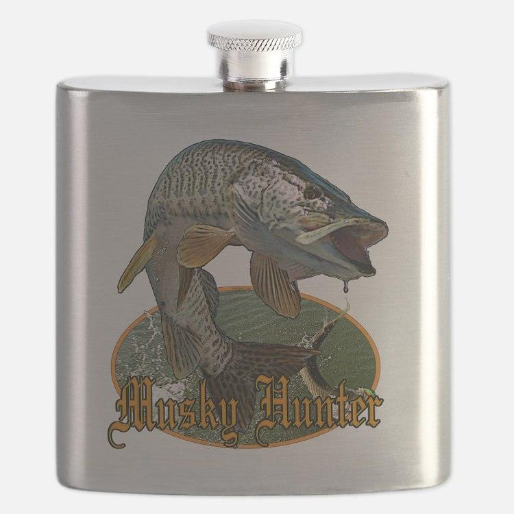 Musky hunter 9 Flask