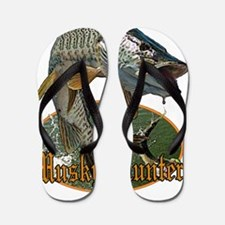 Musky hunter 9 Flip Flops