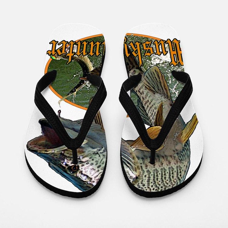 Musky hunter 9 Flip Flops