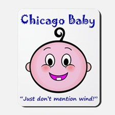 chicago_baby_blue_5x5 Mousepad
