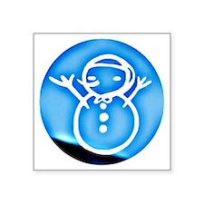 """jh ornament Square Sticker 3"""" x 3"""""""