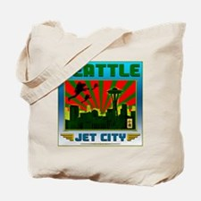SAETTLE_JET_CITY-blu-c Tote Bag