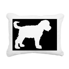 schnoodlelp Rectangular Canvas Pillow