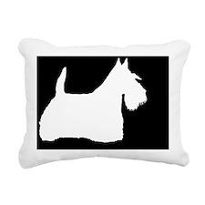 scottielp Rectangular Canvas Pillow
