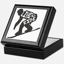LivetoRide2 Keepsake Box