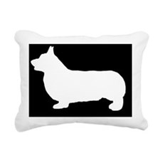 welshcorgipembrokelp Rectangular Canvas Pillow