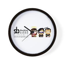 Funny Shucks Wall Clock