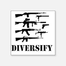 """diverse Square Sticker 3"""" x 3"""""""