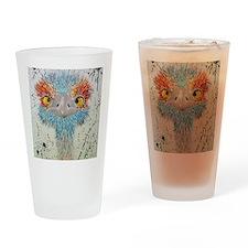 sierra ostrich Drinking Glass