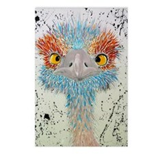 sierra ostrich Postcards (Package of 8)