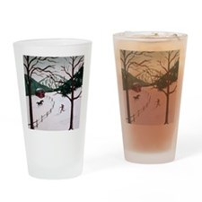 skixmas Drinking Glass