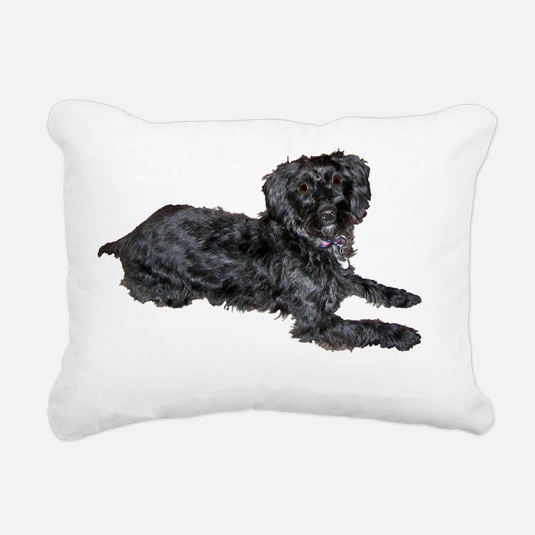 bai3 Rectangular Canvas Pillow