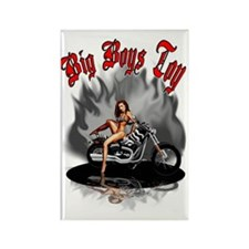 Big Boys Toy Rectangle Magnet
