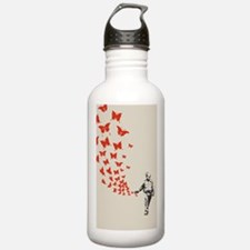 pike-butterfly-STKR Water Bottle