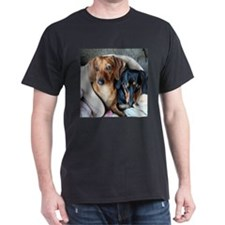 Needlepoint Look Dachshund Do T-Shirt