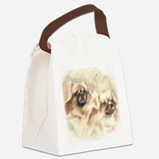 tibbieheadandbody1189 Canvas Lunch Bag