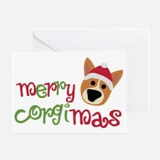 corgimas Greeting Card