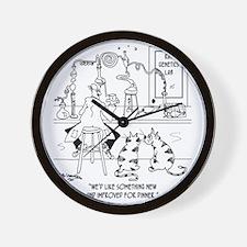 6606_food_processing_toon Wall Clock