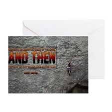 Rules Of The Game Quote on Large Fra Greeting Card