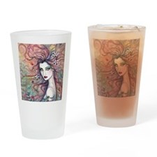 chloris for pillow Drinking Glass