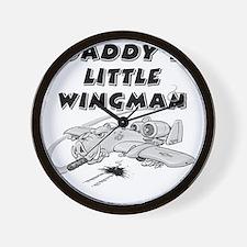 daddys_little_wingman Wall Clock