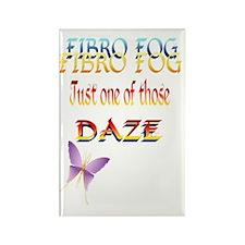 Fibro Fog-Daze Trans Rectangle Magnet