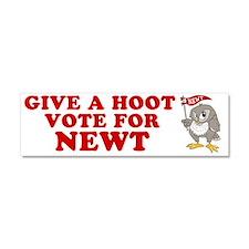 Give-a-Hoot-Next-Bumper-Sticker Car Magnet 10 x 3