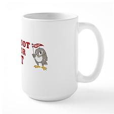 Give-a-Hoot-Next-Bumper-Sticker Mug