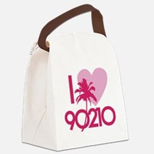90210loveD Canvas Lunch Bag