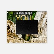 Be The Change Quote on Quote on Larg Picture Frame