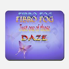 Fibro Fog-Yardsign Mousepad