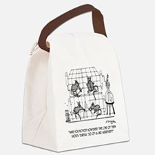 2171_lab_cartoon_EK Canvas Lunch Bag