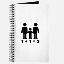 1 + 1 = 3 (graphic of family) Journal