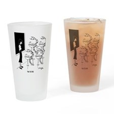 6575_biology_cartoon Drinking Glass