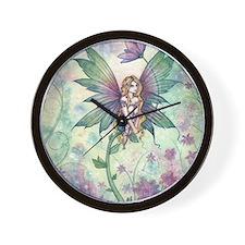 mystic garden 16 x 20 cp Wall Clock