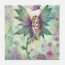 mystic garden 16 x 20 cp Tile Coaster