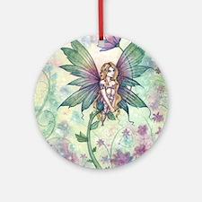 mystic garden 16 x 20 cp Round Ornament