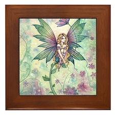 mystic garden 16 x 20 cp Framed Tile