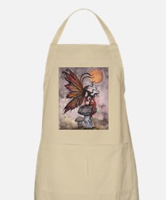 yellow moon of autum for 16 20 print cp Apron