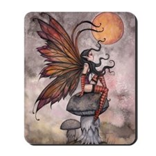 yellow moon of autum for 16 20 print cp Mousepad