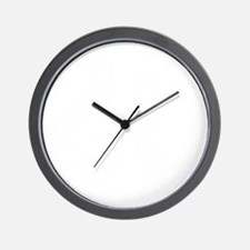 20th_White_NoBkgd Wall Clock