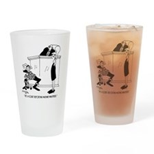7419_court_reporter_cartoon Drinking Glass