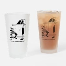 7419_court_reporter_cartoon Drinking Glass